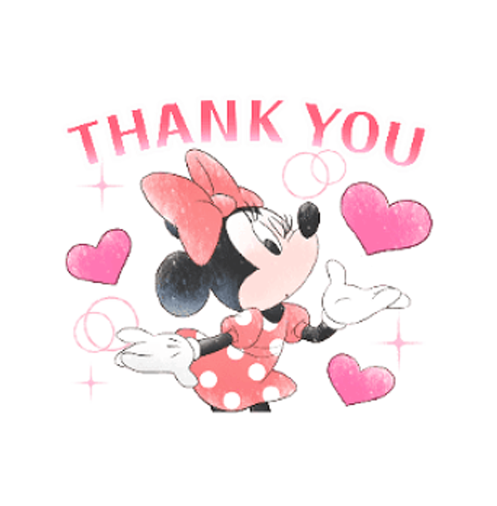 Stickers | Minnie Mouse - Cute Politeness