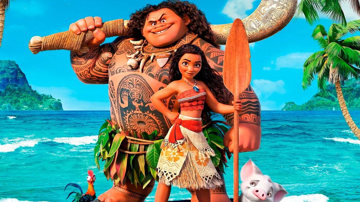 Atividades para você se divertir com Moana e Maui