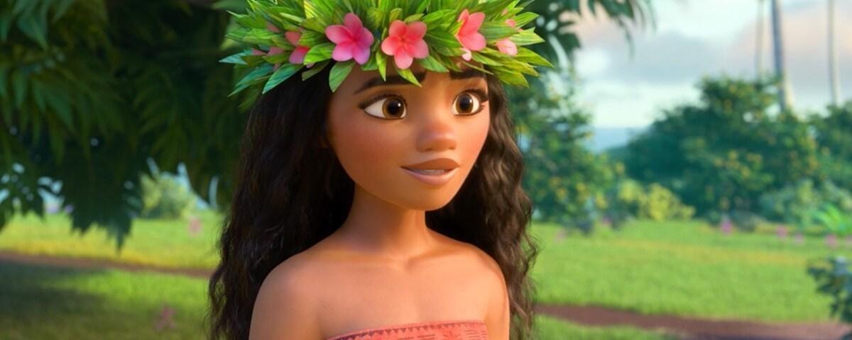 """Animated character Moana from the film """"Moana"""""""