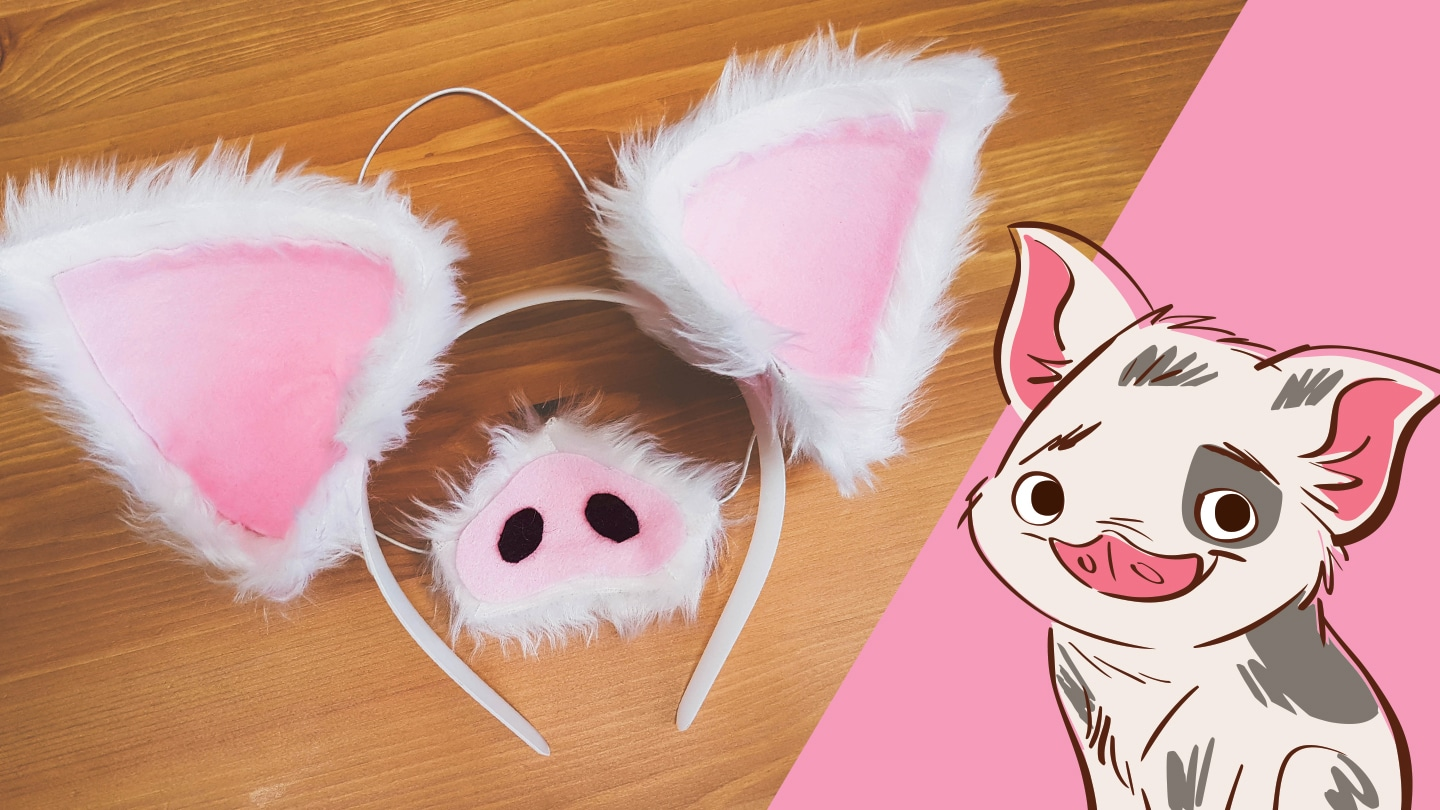 Dress Your Dog Like Pua from Moana