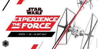 STAR WARS: EXPERIENCE THE FORCE @ STGCC / 09 - 10 SEP / FIND OUT MORE >