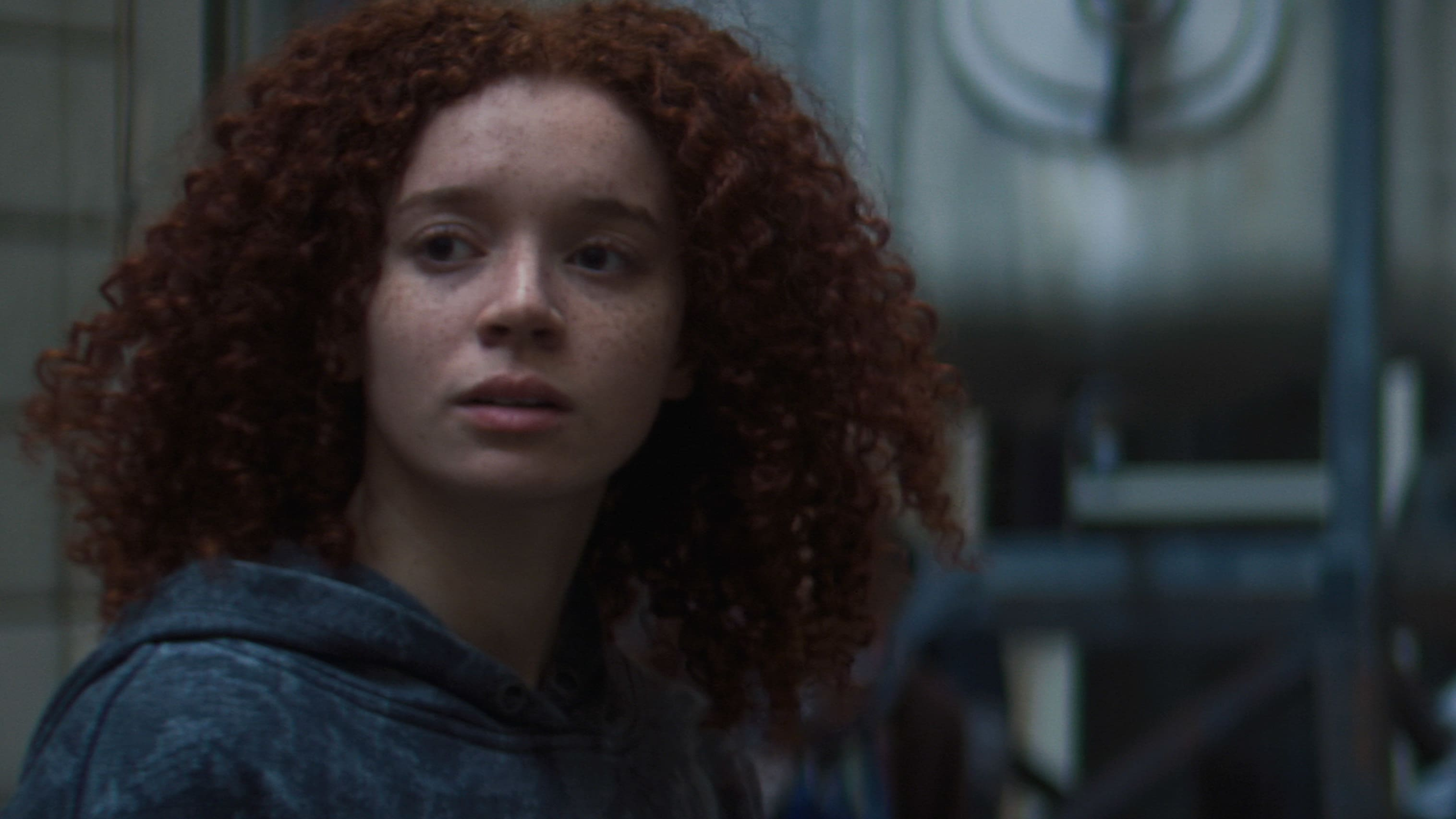 Karli Morgenthau (Erin Kellyman) in Marvel Studios' THE FALCON AND THE WINTER SOLDIER exclusively on Disney+. Photo courtesy of Marvel Studios. ©Marvel Studios 2021. All Rights Reserved.