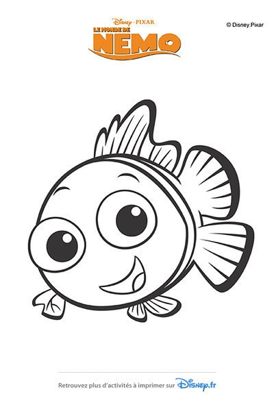 Coloriages le monde de nemo 2003 disney coloriages fr - Coloriage le monde de nemo ...