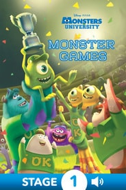 Monsters University: Monster Games