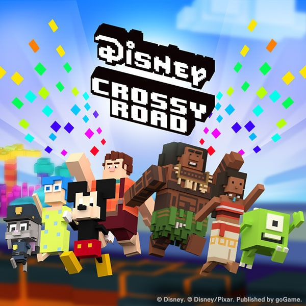 More Disney - goGame: Disney Crossy Road