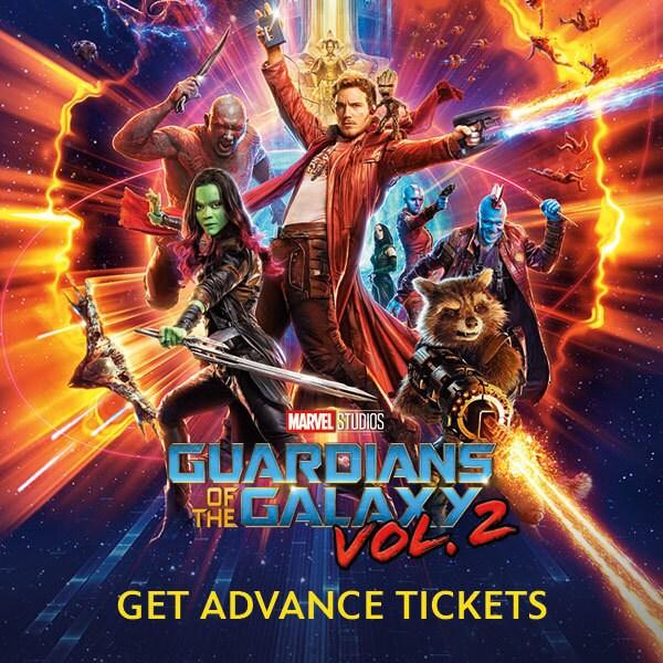 Advance Tickets - GOTG 2 - SG, MY, PH, ID