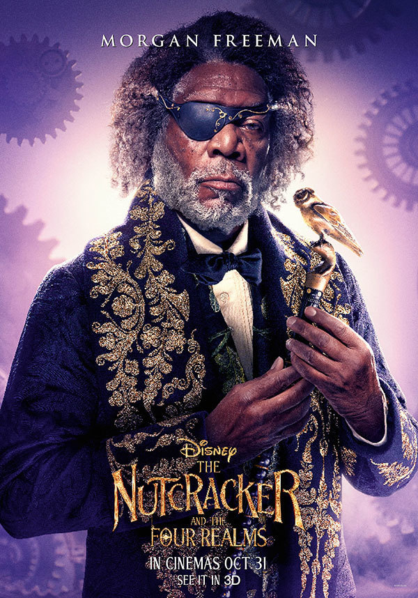 The Nutcracker and the Four Realms - Morgan Freeman