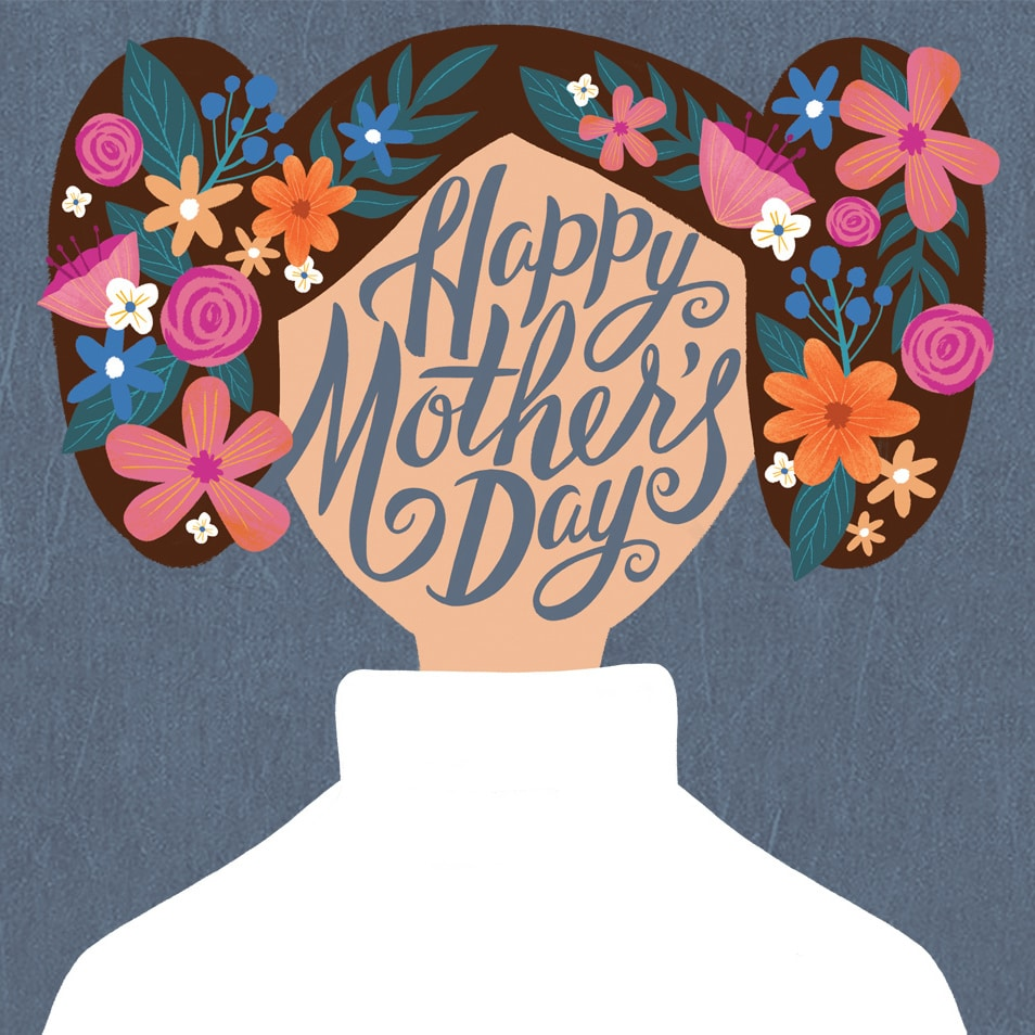 STAR WARS MOTHER'S DAY CARDS SURE TO WARM YOUR HEART