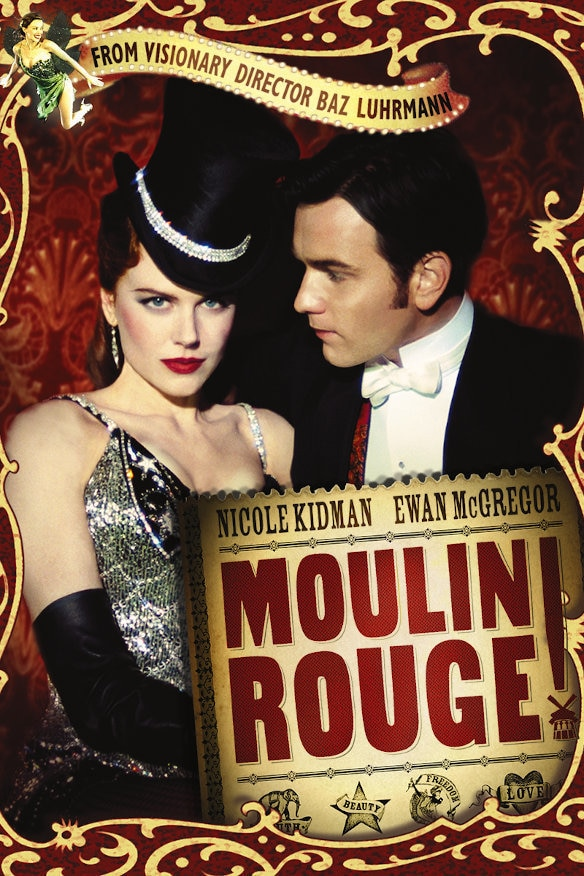 Moulin Rouge! movie poster