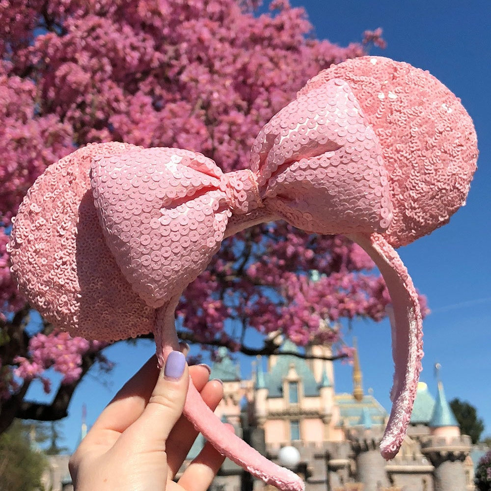 Exclusive: Millennial Pink Minnie Ears and Spirit Jerseys Are Coming to Disney Parks
