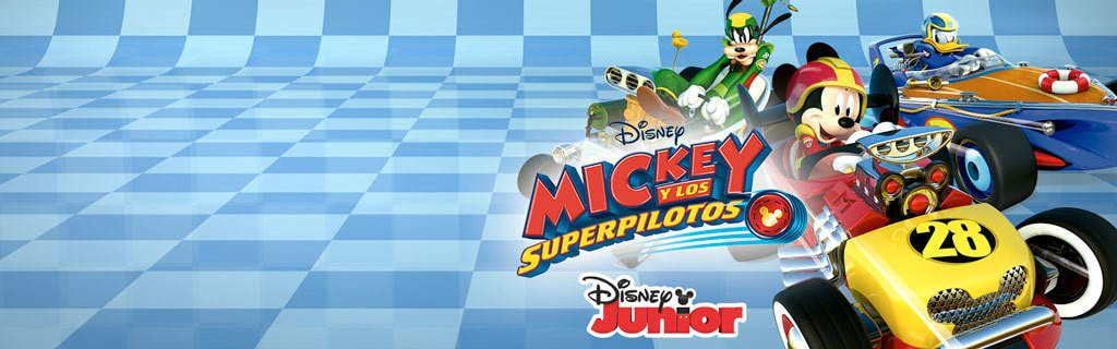 ES - DJR - Mickey Roadster Racers V2- on-air promo - Home Hero