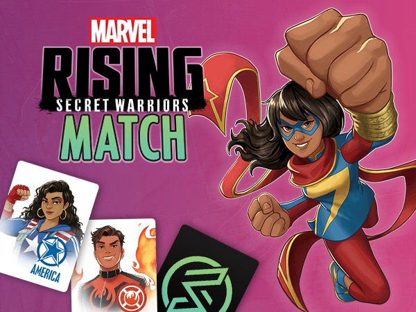 Marvel Rising Match