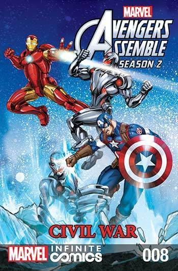 Avengers Assemble: Civil War #08