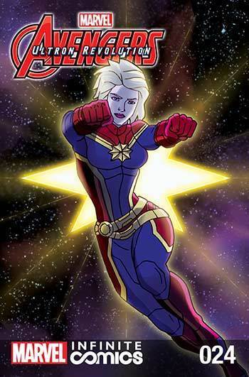 Avengers: Ultron Revolution #24: Captain Marvel Part 2