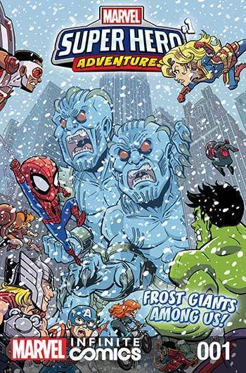 Super Hero Adventures: Frost Giants Among Us! Part 1