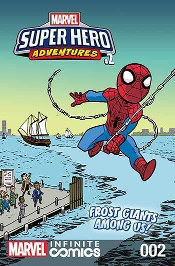 Super Hero Adventures: Frost Giants Among Us! Part 2
