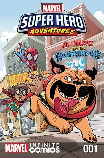 Super Hero Adventures: Ms. Marvel and the Teleporting Dog Part 1