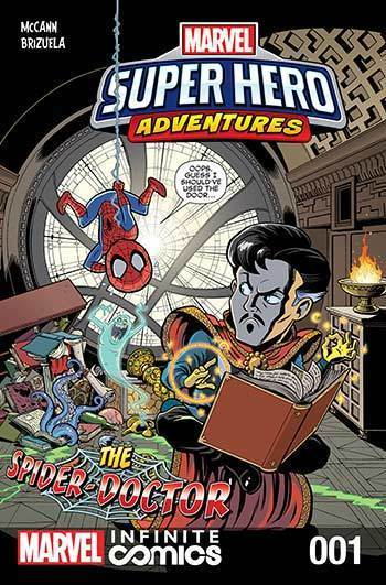 Super Hero Adventures: The Spider-Doctor Part 1