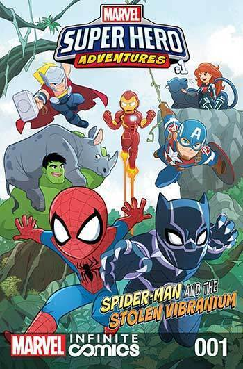 Super Hero Adventures: Spider-man and the Stolen Vibranium Part 1