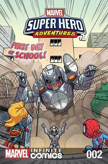 Super Hero Adventures: First Day of School Part 2