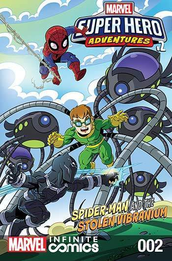 Super Hero Adventures: Spider-man and the Stolen Vibranium Part 2