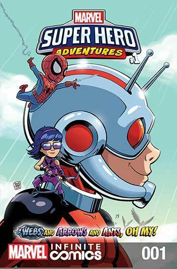 Super Hero Adventures: Webs and Arrows and Ants, Oh My! Part 1
