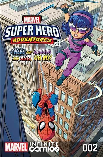 Super Hero Adventures: Webs and Arrows and Ants, Oh My! Part 2