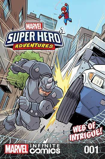 Super Hero Adventures: Web of Intrigue Part 1