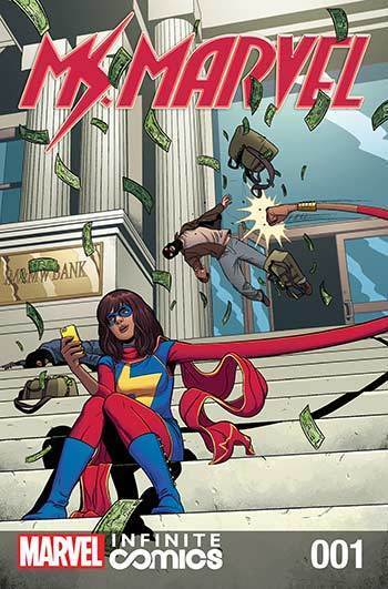 Ms. Marvel #01: Healing Factor Part 1