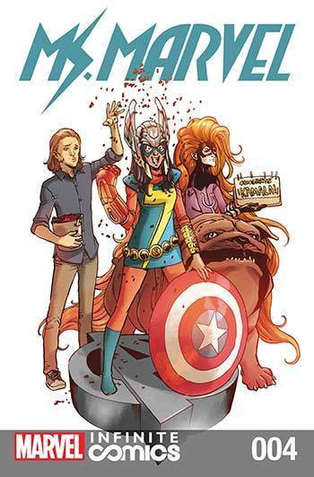Ms. Marvel: Super Famous #04