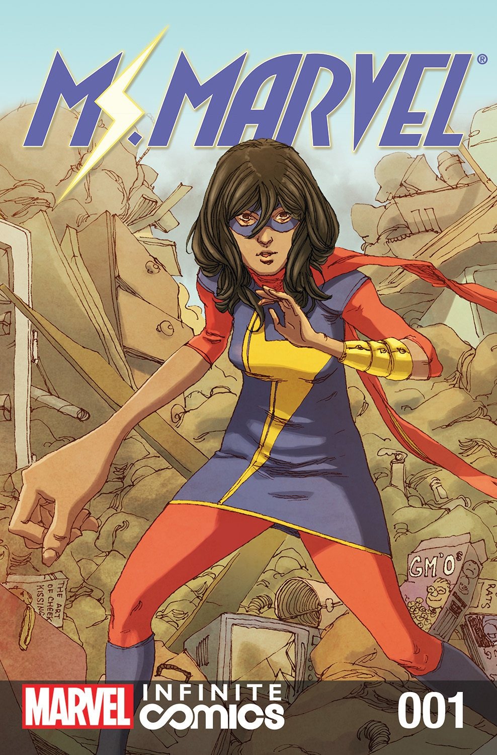 Ms. Marvel: Garden State of Mind