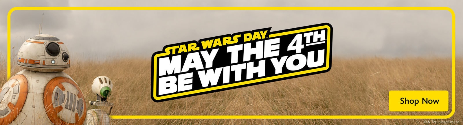 May The 4th Products Banner - Lazada