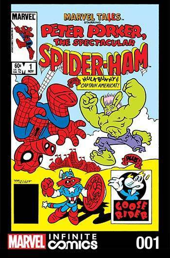 Marvel Tails: Spectacular Spider-Ham Part 1