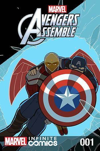 MARVEL AVENGERS ASSEMBLE INFINITE COMIC #1