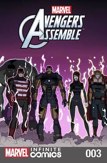 MARVEL AVENGERS ASSEMBLE INFINITE COMIC #3