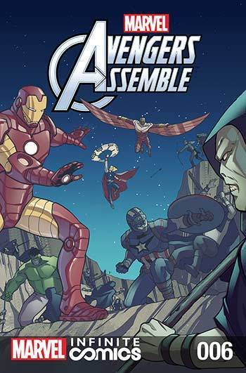 MARVEL AVENGERS ASSEMBLE INFINITE COMIC #6