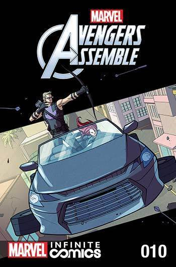 MARVEL AVENGERS ASSEMBLE INFINITE COMIC #10