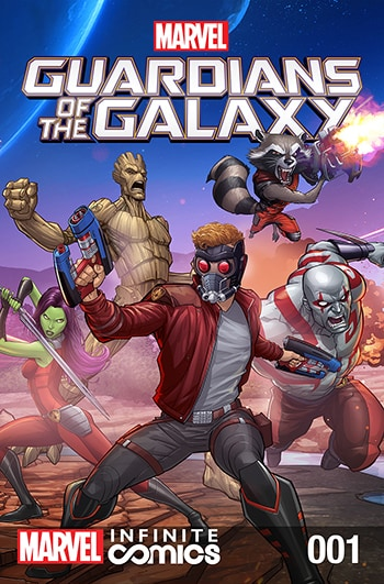 Guardians of the Galaxy #01