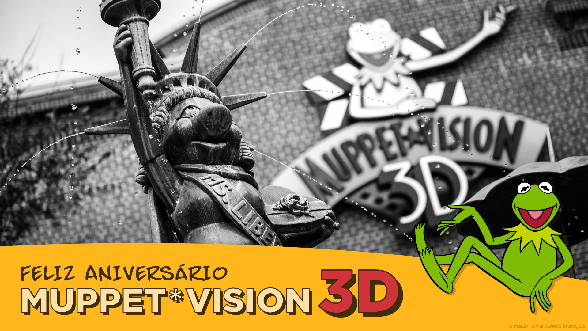 O aniversário do Muppet*Vision 3D no Disney's Hollywood Studios!