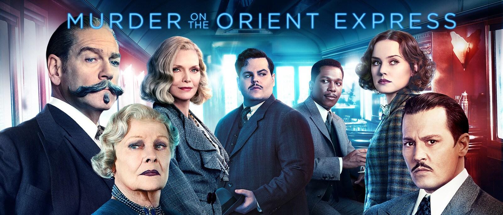 Murder on the Orient Express Hero