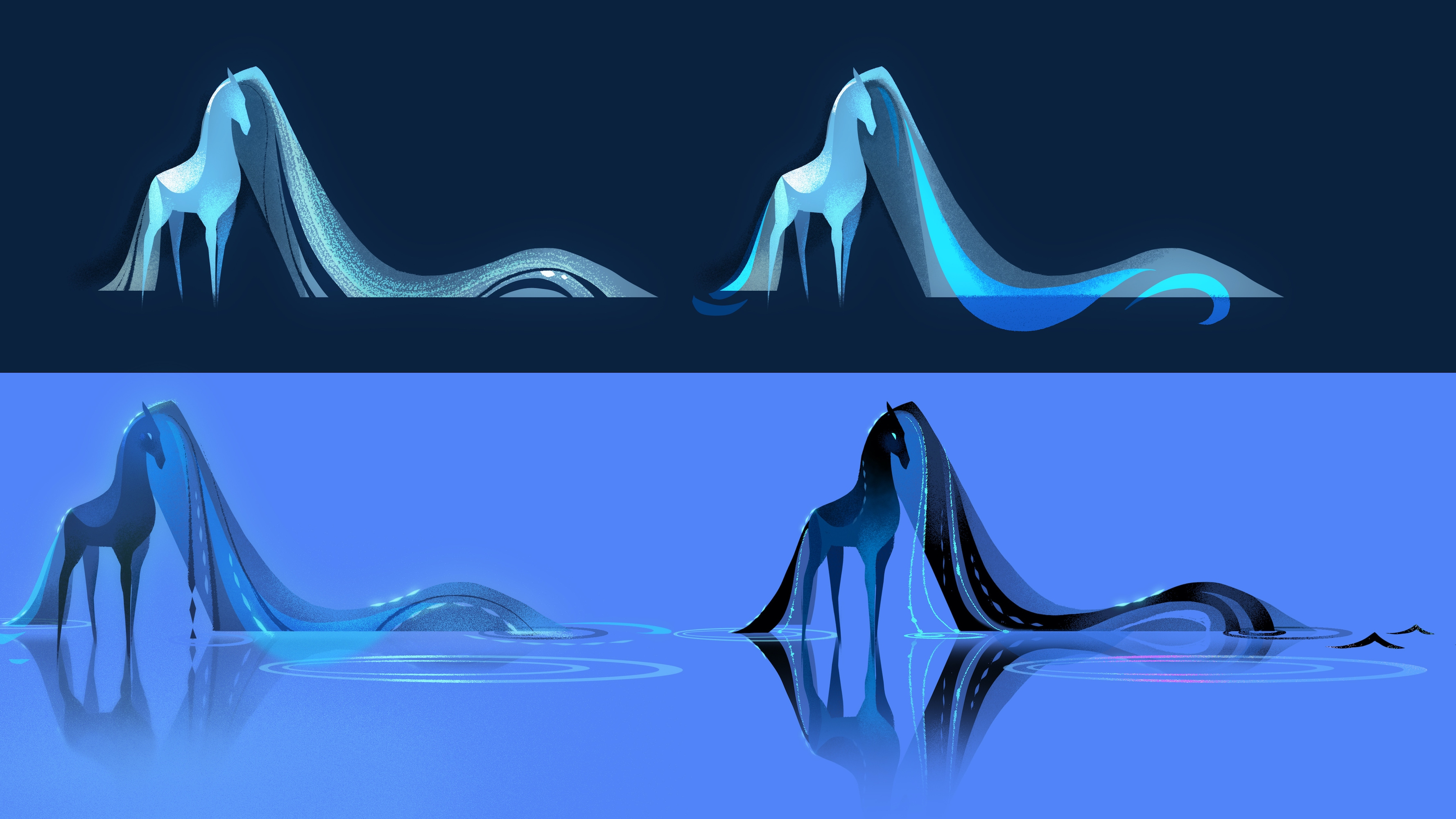 MYTH: A FROZEN TALE – Visual Development Art by Brittney Lee. © 2021 Disney. All Rights Reserved.