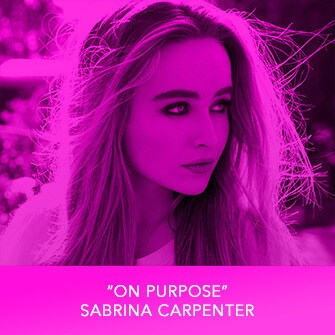 "RDMA 2017 Winner - BEST CRUSH SONG - ""On Purpose"" by Sabrina Carpenter"