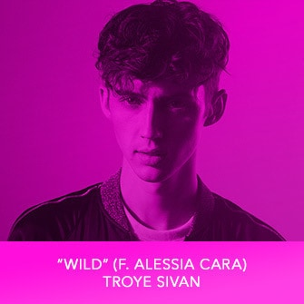 "RDMA 2017 Winner - BEST CRUSH SONG - ""Wild (f. Alessia Cara)"" by Troye Sivan"