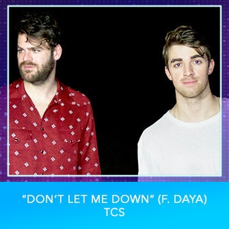 "RDMA 2017 Nominee - BEST DANCE TRACK - ""Don't Let Me Down (f. Daya)"" by TCS"