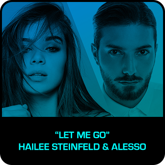 "RDMA 2018 Winner - BEST DANCE TRACK - ""Let Me Go"" by Hailee Steinfeld & Alesso f. Florida Georgia Line & watt"
