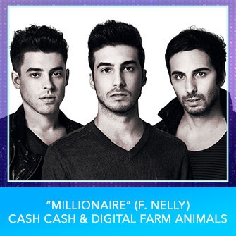 "RDMA 2017 Nominee - BEST DANCE TRACK - ""Millionaire (f. Nelly)"" By Cash Cash & Digital Farm Animals"