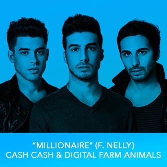 "RDMA 2017 Winner - BEST DANCE TRACK - ""Millionaire (f. Nelly)"" By Cash Cash & Digital Farm Animals"