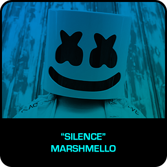 "RDMA 2018 Winner - BEST DANCE TRACK - ""Silence"" by Marshmello f. Khalid"