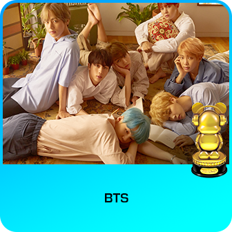 RDMA 2018 Winner - BEST DUO/GROUP - BTS