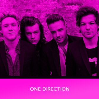 RDMA 2017 Winner - BEST GROUP - One Direction